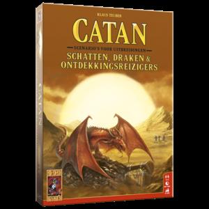 999 Games Catan- Schatten, Draken & Ontdekkingsreizigers
