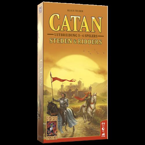 999 Games Catan- Steden en Ridders 5/6 spelers