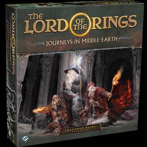 Fantasy Flight LotR Journeys in Middle Earth- Shadowed Paths