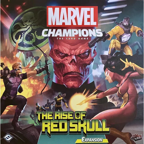 Asmodee Marvel Champions LCG- The Rise of Red Skull