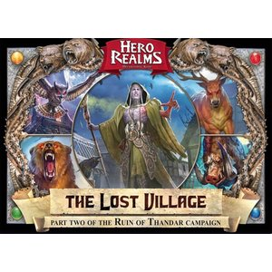 Wise Wizard Games Hero Realms- The Lost Village Campaign Pack