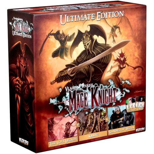 Wizk!ds Mage Knight Boardgame Ultimate Edition