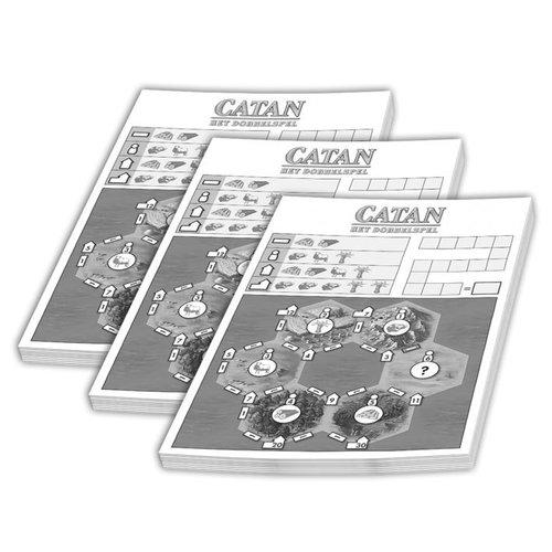 999 Games Catan- Dobbelspel Scoreblok 3 stuks