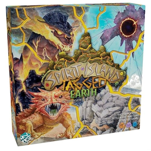Greater Than Games PREORDER- Spirit Island- Jagged Earth