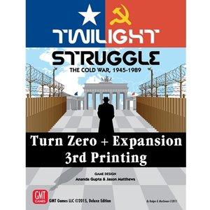GMT Twilight Struggle- Turn Zero and Promo Pack exp.