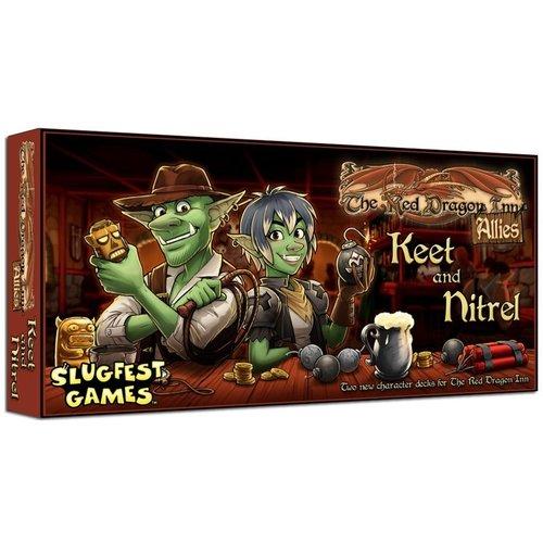 Slugfest Games The Red Dragon Inn- Allies exp.- Keet & Nitrel