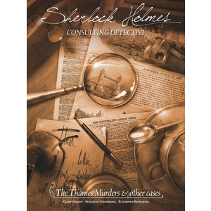 Space Cowboys Sherlock Holmes Consulting Detective- The Thames Murders & Other Cases
