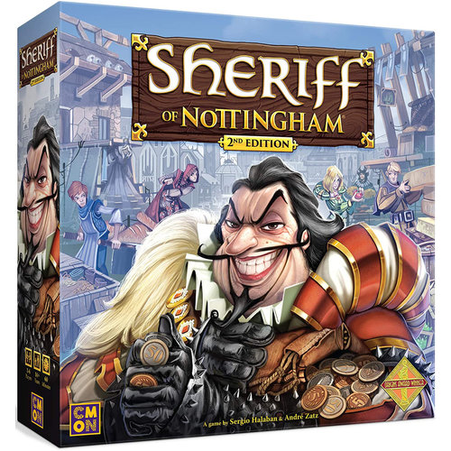 Cool Mini or Not Sheriff of Nottingham 2nd Ed.