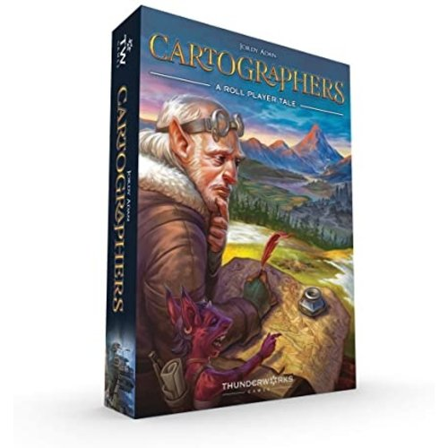 - Cartographers- A Roll Player Tale