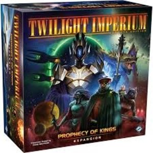 Fantasy Flight Twilight Imperium 4th Ed- Prophecy of Kings expansion