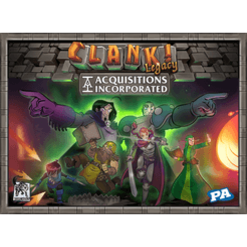 Renegade Studios Clank! Legacy- Acquisitions Incorporated