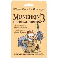 Munchkin ENG 3 - Clerical Errors