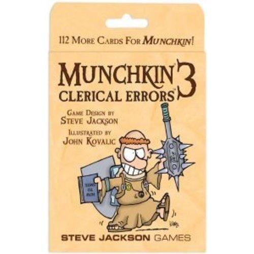 Steve Jackson Games Munchkin ENG 3 - Clerical Errors