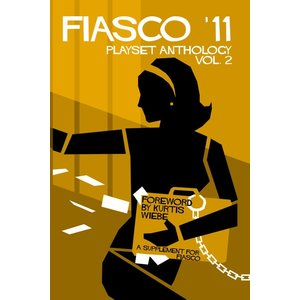 Bully Pulpit Games Fiasco RPG- '11 Playset Anthology Vol 2 (Book)