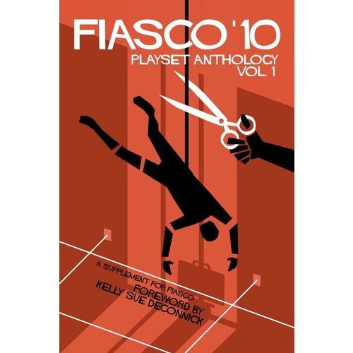 Bully Pulpit Games Fiasco RPG- '10 Playset Anthology Vol 1 (Book)