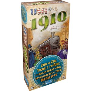 Days of Wonder Ticket to Ride- USA 1910 exp.