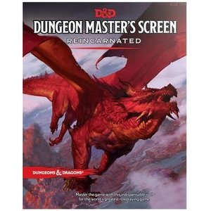 Wizards of the Coast D&D 5E - Dungeon's Masters Screen Reincarnated