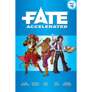 Evil Hat Productions Fate RPG- Accelerated