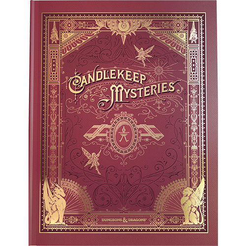 Wizards of the Coast PREORDER - D&D 5E Candlekeep Mysteries - Aternate Cover