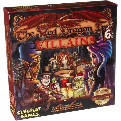 Slugfest Games The Red Dragon Inn 6- Villains