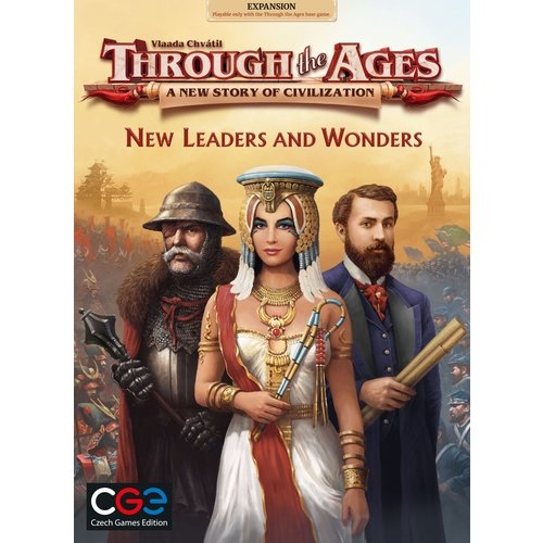 Czech Games Edition Through the Ages- New leaders & Wonders