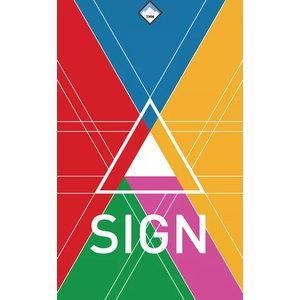 - Sign kaartspel