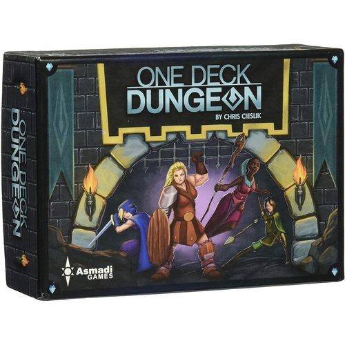 - One Deck Dungeon