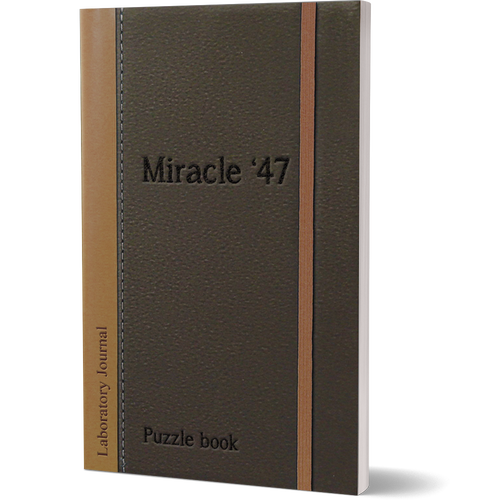 Escapages Escapages- Miracle 47 interactive puzzle book