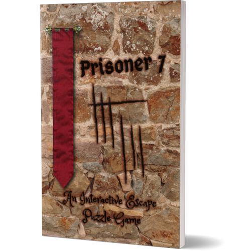 Escapages Escapages - Prisoner 7 - In this book, you need to use logic, clues and tangental thinking to firstly identify the prisoner, and then help them escape.