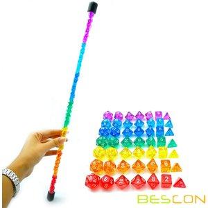 Awesome Dice Mini Rainbow Polyhedral 49-pcs die Set Tube