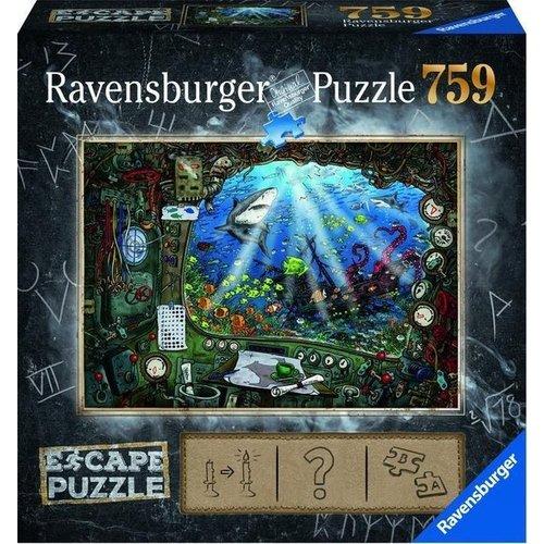 Ravensburger Escape Puzzle 4 - De Onderzeeer