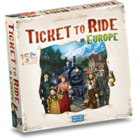 PREORDER- Ticket to Ride NL- Europe 15th Anniversary (MEI 2021)
