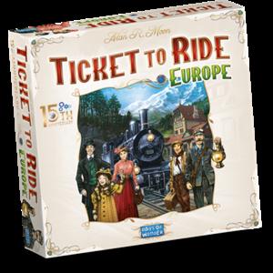 Days of Wonder PREORDER Ticket to Ride NL- Europe 15th Anniversary (VERWACHT MEI 2021)