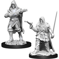Unpainted Miniatures- Human Rogue Male (PF)