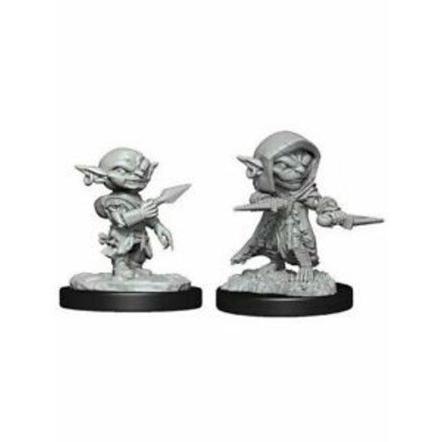 Wizk!ds Unpainted Miniatures- Goblin Rogue Male (PF)