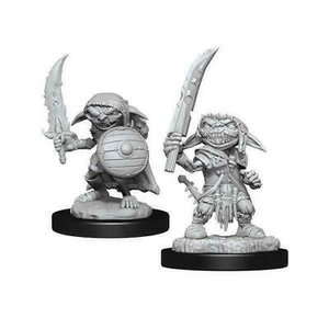 Wizk!ds Unpainted Miniatures- Goblin Fighter Male (PF)