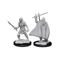 Unpainted Miniatures-  Elf Fighter Male (PF)