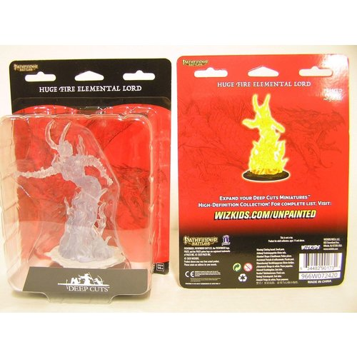 Wizk!ds Unpainted Miniatures- Huge Fire Elemental Lord (PF)