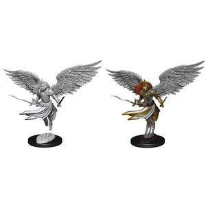 Wizk!ds Unpainted Miniatures- Aurelia, Exemplar of Justice (Angel)  (MTG)