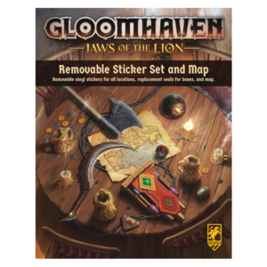 Cephalofair Games PREORDER- Gloomhaven- Jaws of the Lion Removable Sticker Set ( APRIL 2021)