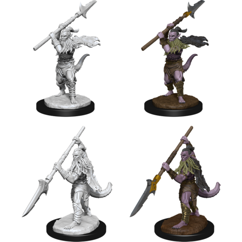 Wizk!ds Unpainted Miniatures- Bearded Devils(5E)