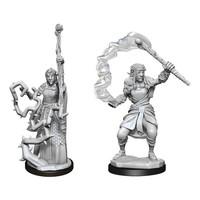 Unpainted Miniatures- Firbolg Druid Female (5E)