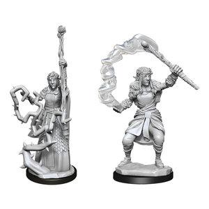 Wizk!ds Unpainted Miniatures- Firbolg Druid Female (5E)