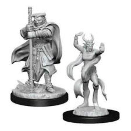 Wizk!ds Unpainted Miniatures- Hobgoblin Devastator & Hobgoblin Iron Shadow (5E)