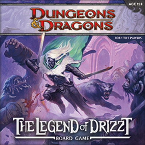 WotC - D&D Legend of Drizzt Boardgame