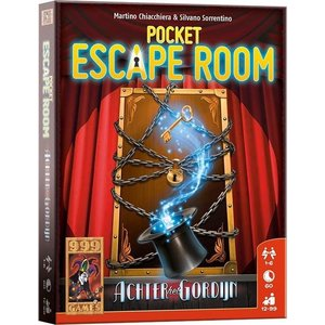 999 Games Pocket Escape Room: Achter het Gordijn