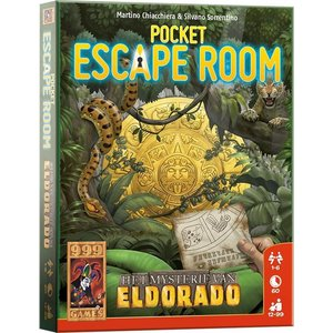 999 Games Pocket Escape Room- Mysterie van Eldorado
