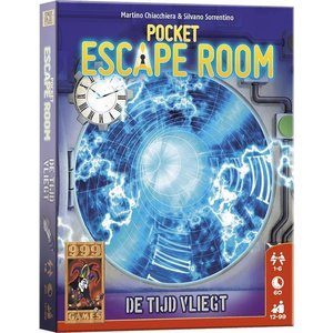 999 Games Pocket Escape Room- De Tijd Vliegt