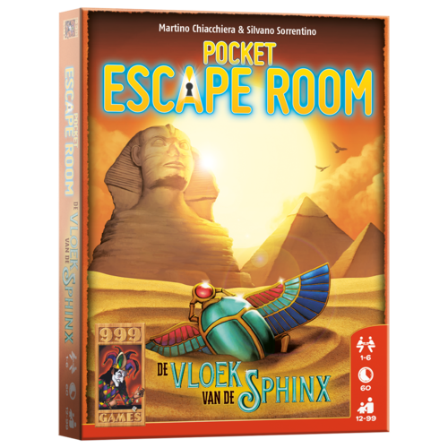 999 Games Pocket Escape Room- De Vloek van de Sphinx