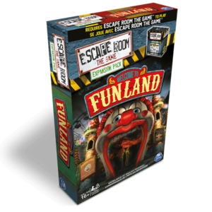 - Escape Room the Game- Welcome to the Funland exp.